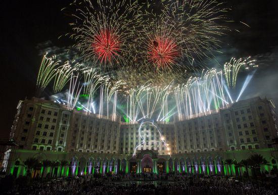 أماكن الاحتفال بالألعاب النارية في اليوم الوطني السعودي 91