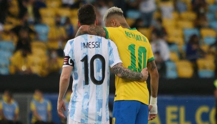 توقيت والقنوات الناقلة لمباراة البرازيل ضد الارجنتين في تصفيات كأس العالم 2022