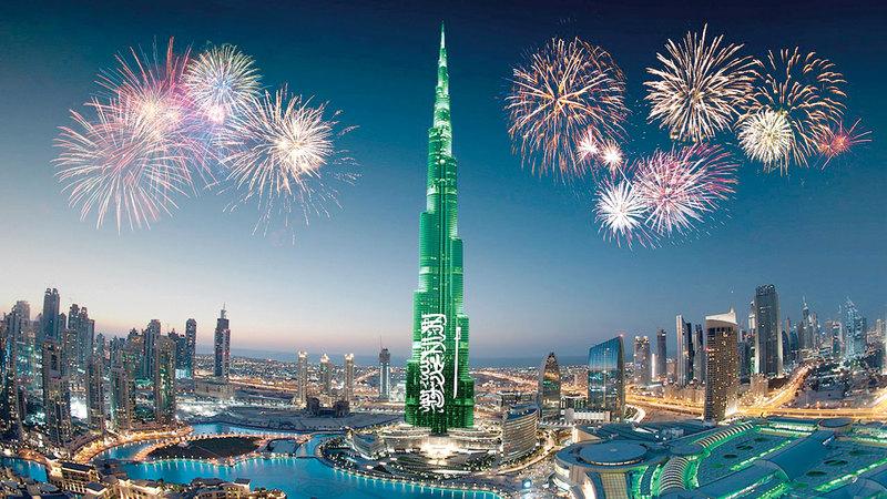 احتفالات السعودية باليوم الوطني 91