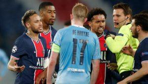 موعد مباراة باريس سان جيرمان ومانشستر سيتي والقنوات الناقلة للمباراة