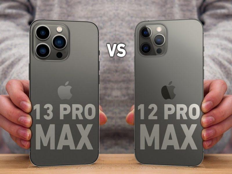 مقارنة بين مواصفات هاتف ايفون 13 برو ماكس وايفون 12 برو ماكس