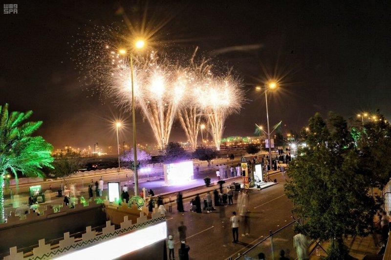 فعاليات جدة لليوم الوطني السعودي 91