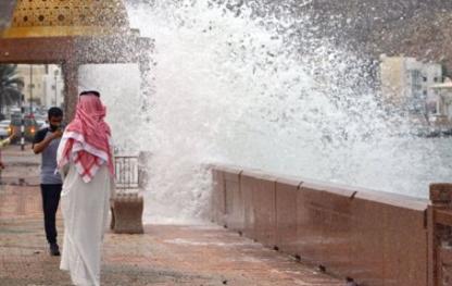إعصار شاهين وتأثيره على المملكة العربية السعودية