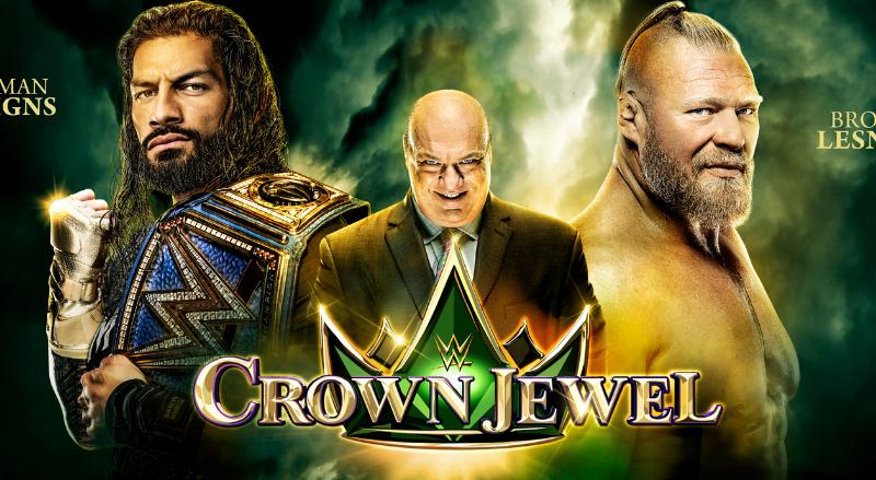 حجز تذكرة عرض كراون جول المصارعة الحرة wwe crown jewel ضمن فعاليات موسم الرياض