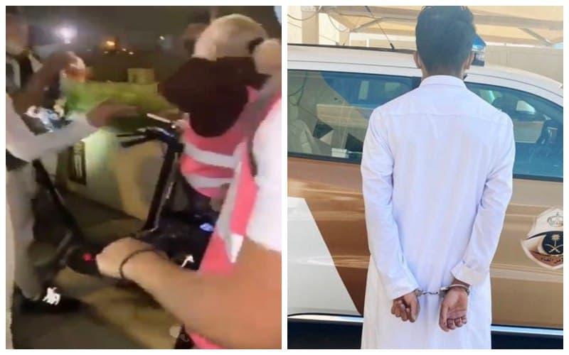 تفاصيل قصة متحرش الرياض والقبض عليه