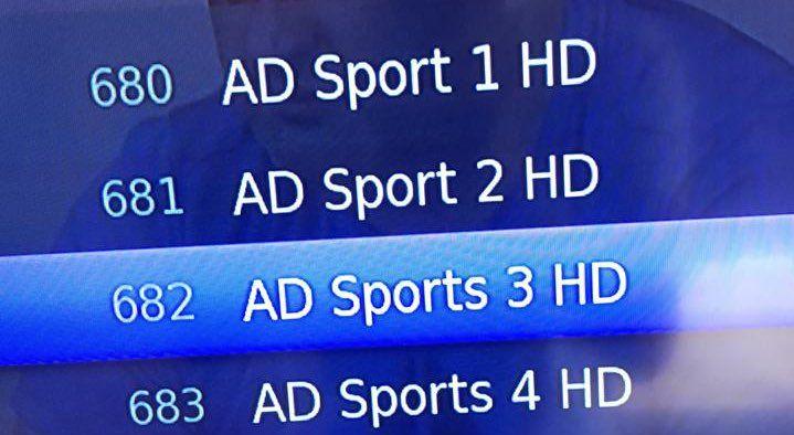 تردد قناة أبو ظبي 2 آسيا الرياضية الناقلة لتصفيات آسيا المؤهلة لكأس العالم