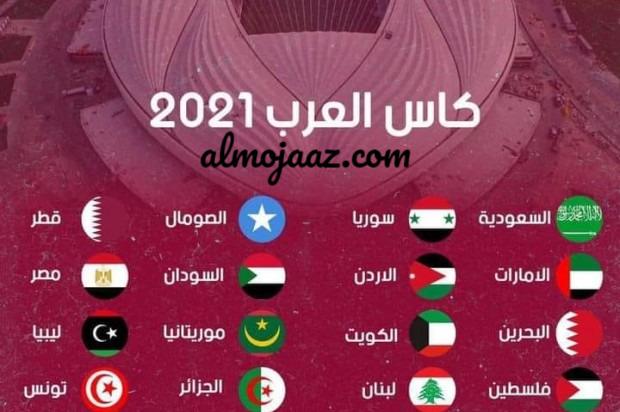 موعد انطلاق مباريات بطولة كأس العرب FIFA فيفا 2021